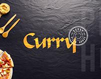 Logo Design & Branding for Curry Pizza