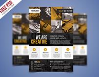 Free PSD : Corporate Business Flyer PSD Flyer Bundle