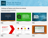 Panel hosting telefonica - singlepage