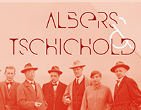 Os Stencil: Albers & Tschichold