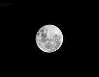Super Moon 2016; The view from Nelson, New Zealand.