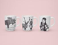 Scandinavian Mugs