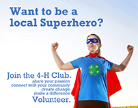 #be4hsuper Volunteerism Campaign
