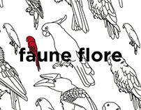 FAUNE FLORE / PatternPattern / Illustration