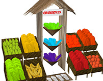 Havaianas Stand Alone Display