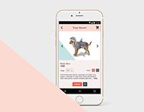 UX/UI Chihuahua ecommerce