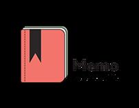 Memo Bookstore - Logo Animation