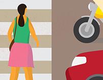 Pedestrian Illustrations