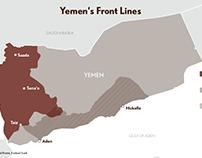 Yemen's Front Lines