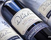Bottle shots Springfield Wine Estate