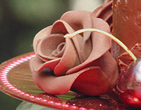 Chocolate Cake Photography