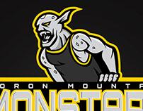Monstar Mascot Logo