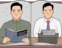 Illustrations for Zeitmagazin