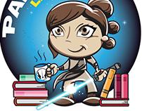 Mascote Padawan Literário