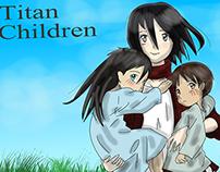 Titan Children [Aot X Wolf Children crossover]
