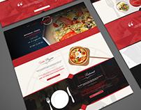 Webdesign (Pizza Cesena)