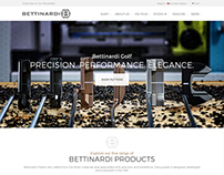 Bettinardi Golf Website Redesign & Development
