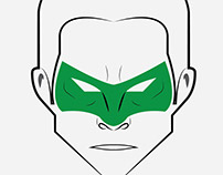 Marvel and DC Universe Characters Illustrations - Faces