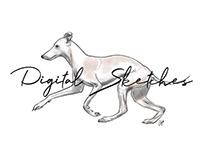 Digital Sketches - Animals
