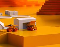 CODELCO | Modelado 3D