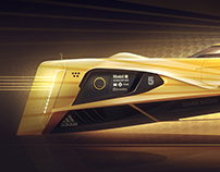 Racing vehicle concept