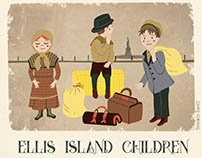 Ellis Island children