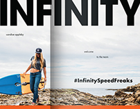 Infinity Surfboards Ads