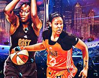 • Official WNBA social media graphics II •