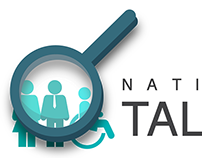 National Talent Summit Logo, 2nd Draft