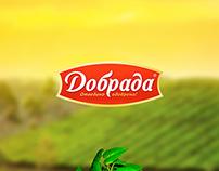 Добрада - дизайн сайта крупнейшего дистрибьютора