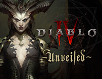 DIABLO IV: UNVEILED | PRESENTATION ART DESIGN