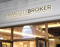 """Logo """"Prime City Broker"""""""