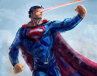 Superman Digital Painting - DC Fan Art