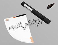 Maher Alkarak Music Composer Identity Design