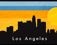 Los Angeles Skyline: Motion Graphic & Design