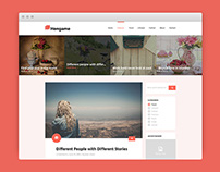 HENGAME - Blog Psd Template