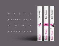 Chuck Palahniuk's book redesign