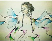 kehlani illustration portrait