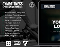 Gym WordPress Theme Responsive by Visualmodo Templates
