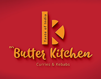 RV Butter Kitchen logo design