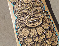 Totem Skateboard Graphic