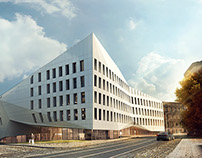 Competition for the Music School, Poznań // 2015