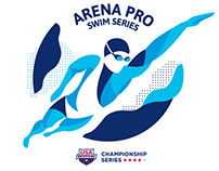 USA Swimming Championship Identity