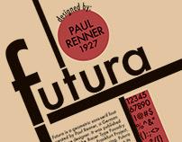 Futura Font Flyer