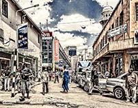 Nairobi CBD (Central Business District)