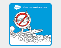 Salesforce Coloring Book