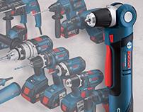 Bosch PS11 12V Angle Drill
