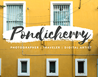 Pondicherry Solo Travel - South India Vlogs.