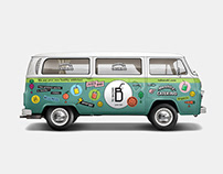 """TO BAZAKI"" Juice Bar — Delivery Van Branding"