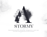 A Stormy Night Watercolor Kit